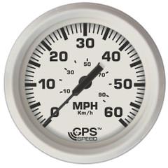 "Faria Dress White 4"" GPS Speedometer [33147]"