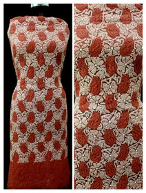Red color Georgette Fabric Short Kurti