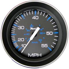 """Faria Coral 4"""" Speedometer (55 MPH) (Pitot) [33009]"""