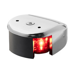 Aqua Signal Series 28 Port LED Deck Mount Light - Stainless Steel Housing [28301-7]