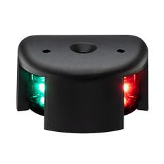 Aqua Signal Series 28 Bi-Color LED Deck Mount Light - Black Housing [28100-7]