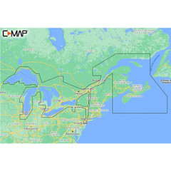 C-MAP M-NA-Y201-MS Great Lakes To Nova Scotia REVEAL Coastal Chart [M-NA-Y201-MS]