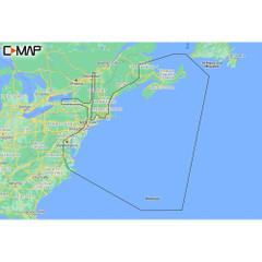 C-MAP M-NA-Y202-MS Nova Scotia to Chesapeake Bay REVEAL Coastal Chart [M-NA-Y202-MS]
