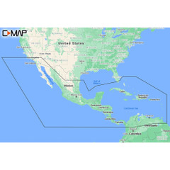 C-MAP M-NA-Y205-MS Central America  Caribbean REVEAL Coastal Chart [M-NA-Y205-MS]