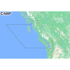 C-MAP M-NA-Y207-MS Columbia  Puget Sound REVEAL Coastal Chart [M-NA-Y207-MS]
