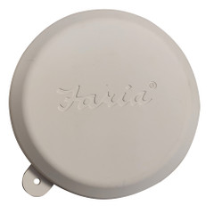 """Faria 4"""" Gauge Weather Cover - White - 3 Pack [F91402-3]"""