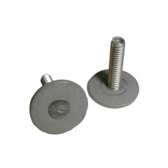 """Weld Mount Stainless Steel Panel Stud .62"""" Base 8 x 32 Thread 1"""" Tall - 100 Pack [83216100]"""