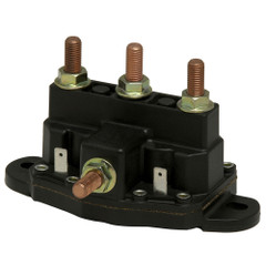 Cole Hersee Continuous Duty Reversing Solenoid - 12V DPDT [24450-BP]