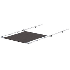"""SureShade PTX Power Shade - Stainless Steel - 51"""" Wide - Grey [PTXSS51GY]"""