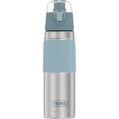 Thermos Vacuum Insulated 18oz Hydration Bottle - Stainless Steel w\/Grey Grip [2465SSG6]