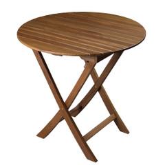 Whitecap Round Slat Table - Teak [63057]