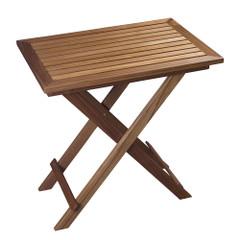 Whitecap Folding Slat Table - Teak [63058]
