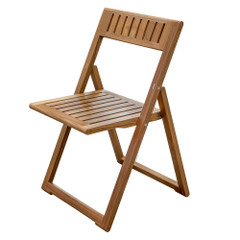Whitecap Folding Slat Chair - Teak [63059]