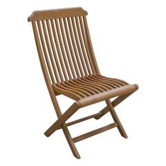 Whitecap Folding Deck Chair - Teak [63075]