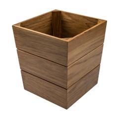Whitecap Large Waste Basket - Teak [63100]