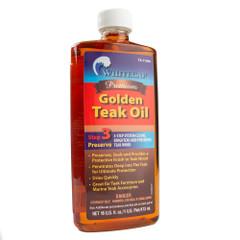 Whitecap Premium Golden Teak Oil - 16oz [TK-71000]