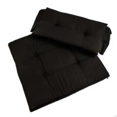 Whitecap Directors Chair II Replacement Seat Cushion Set - Black [87241]
