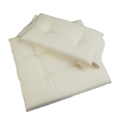 Whitecap Seat Cushion Set f\/Directors Chair - Crme [97243]
