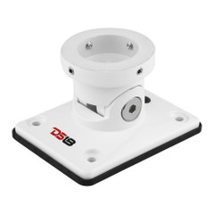 DS18 Hydro Universal Flat Swivel Mount - White [FLMBPS\/WHV2]