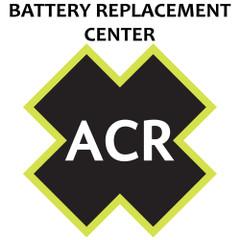 ACR BRC 1098.1NH Battery Replacement Service - GlobalFix Class 2 Non-Hazmat [1098.1NH]