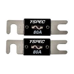T-Spec V8 Series 80 AMP ANL Fuse - 2 Pack [V8-ANL80]