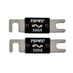T-Spec V8 Series 100 AMP ANL Fuse - 2 Pack [V8-ANL100]