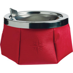 Marine Business Windproof Ashtray w\/Lid - Red [30103]