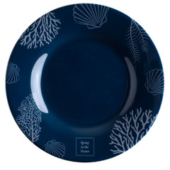 "Marine Business Melamine Round Dessert Plate - LIVING - 7"" Set of 6 [18003C]"