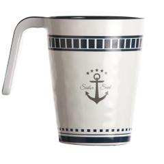 Marine Business Melamine Non-Slip Coffee Mug - SAILOR SOUL - Set of 6 [14004C]