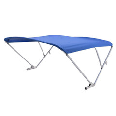 SureShade Power Bimini - Clear Anodized Frame - Pacific Blue Fabric [2020000302]
