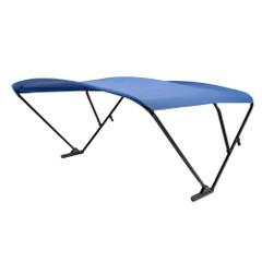 SureShade Power Bimini - Black Anodized Frame - Pacific Blue Fabric [2020000309]