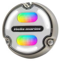Hella Marine Apelo A2 RGB Underwater Light - 3000 Lumens - Bronze Housing - White Lens w\/Edge Light [016148-101]