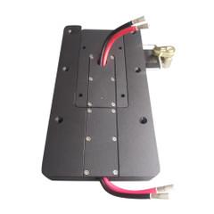 Power Pux Starboard Side Quick Release Bracket - Black [CMP-KIT-STBD-BLK]
