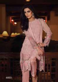 Pink color Georgette Fabric Suit