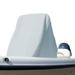 """Carver Poly-Flex II Large Center Console Universal Cover - 50""""D x 40""""W x 60""""H - Grey [53014]"""