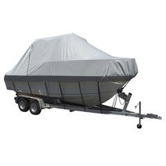 Carver Sun-DURA Specialty Boat Cover f\/27.5 Walk Around Cuddy  Center Console Boats - Grey [90027S-11]