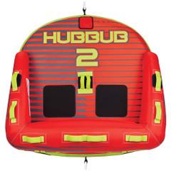 Full Throttle Hubbub 2 Towable Tube - 2 Rider - Red [303400-100-002-21]