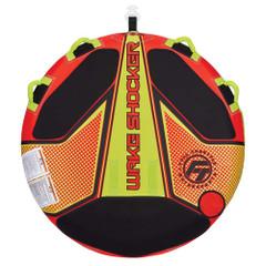 Full Throttle Wake Shocker Towable Tube - 2 Rider - Red [302400-100-002-21]