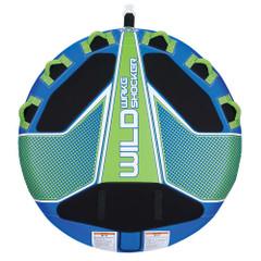Full Throttle Wild Wake Shocker Towable Tube - 3 Rider - Blue [302400-500-003-21]