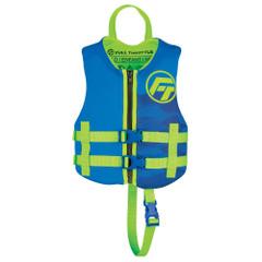 Full Throttle Child Rapid-Dry Life Jacket -Blue [142100-500-001-22]