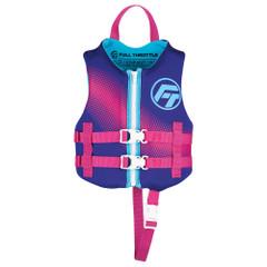 Full Throttle Child Rapid-Dry Life Jacket -Purple [142100-600-001-22]
