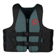 Full Throttle Adult Rapid-Dry Life Jacket - S\/M - Grey\/Black [142100-701-030-22]