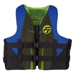 Full Throttle Adult Rapid-Dry Life Jacket - 2XL\/4XL - Blue\/Black [142100-500-080-22]