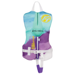 Full Throttle Infant Rapid-Dry Flex-Back Life Jacket - Aqua [142200-505-000-22]