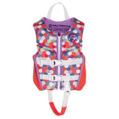 Full Throttle Child Rapid-Dry Flex-Back Life Jacket - Pink [142500-105-001-22]