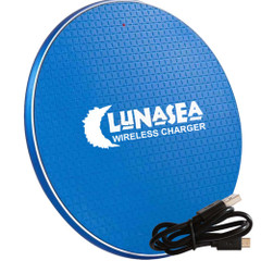 Lunasea LunaSafe 10W Qi Charge Pad USB Powered - Power Supply Not Included [LLB-63AS-01-00]