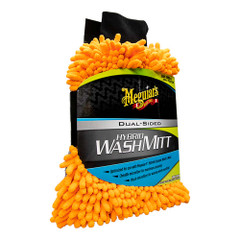 Meguiars Hybrid Wash Mitt - Extremely Plush Microfiber Wash Mitt f\/Gently Waxing While Washing [X210200]