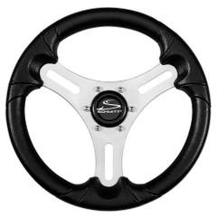 """Schmitt 13"""" Torcello Lite - Polyurethane Wheel - 3\/4"""" Tapered Shaft - Silver\/Black [PU063104-01]"""