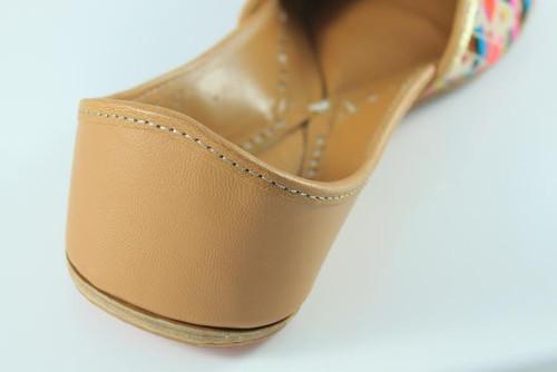 Awesome Beige  Handmade Pure Leather Jutti6
