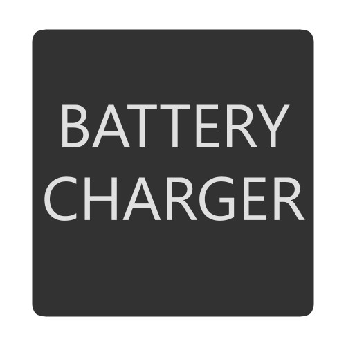 Blue Sea 6520-0050 Square Format Battery Charger Label [6520-0050]